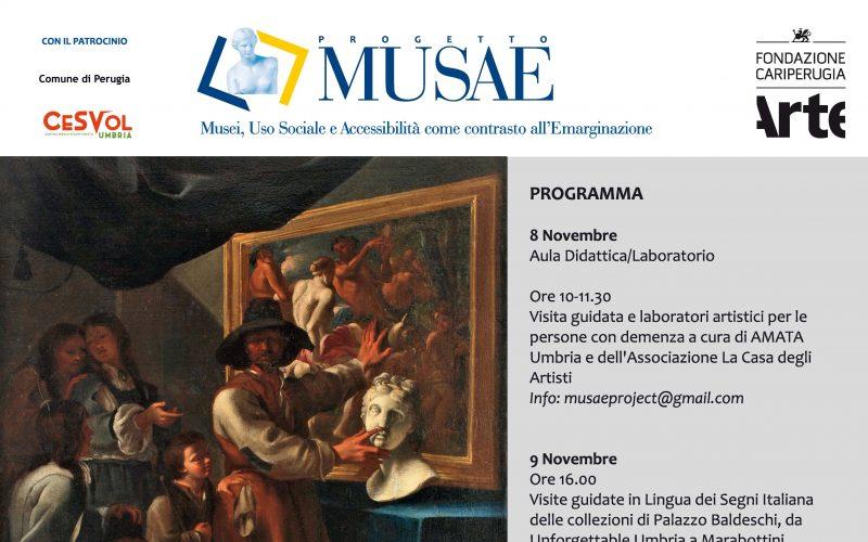 Progetto Musae: esplorare il rapporto tra Arte e Disabilità
