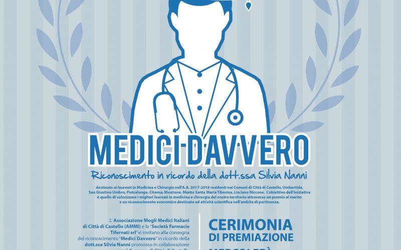 """CERIMONIA DI PREMIAZIONE DEL PROGETTO """"MEDICI DAVVERO"""""""