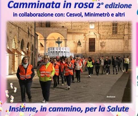 Piedibus del Ben Essere Speciale Camminata in Rosa 2° edizione