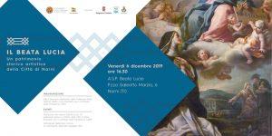 Il Beata Lucia inaugura il nuovo allestimento della collezione d'arte dell'ente
