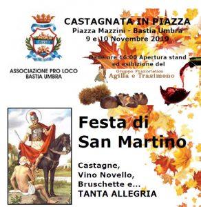 """CASTAGNATA IN PIAZZA"""