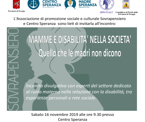 Mamme e disabilità nella società