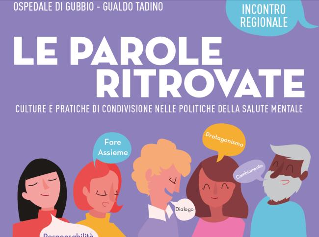 """""""LE PAROLE RITROVATE"""" – CONFRONTO SULLE POLITICHE DI SALUTE MENTALE"""