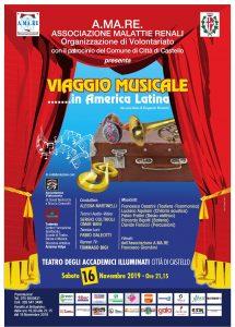 """SPETTACOLO """"VIAGGIO MUSICALE … IN AMERICA LATINA"""""""