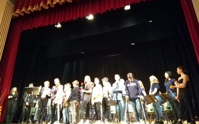 """Gemellaggio musicale con l'Istituto """"De Gasperi-Battaglia"""" di Norcia"""