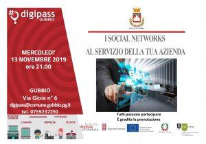 """""""I SOCIAL NETWORKS AL SERVIZIO DELLA TUA AZIENDA"""" –"""