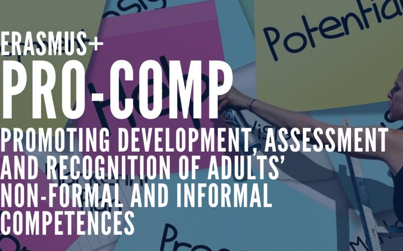 PRO-COMP, Focus sul riconoscimento dell'apprendimento non formale in Europa