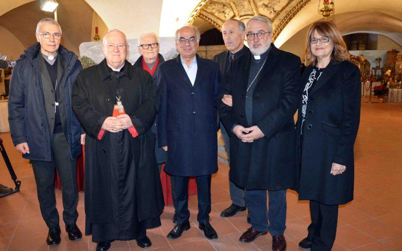 """LA CITTA' DEL PRESEPIO – OLTRE 200 ESPOSITORI PROVENIENTI DA TUTT'ITALIA ALLA 20^ """"MOSTRA INTERNAZIONALE DI ARTE PRESEPIALE"""" INAUGURATA DAL CARDINALE GUALTIERO BASSETTI, PRESIDENTE DELLA CEI"""