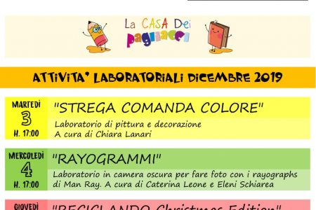 """""""New generation community"""": I laboratori de I Pagliacci per contrastare la povertà educativa minorile"""