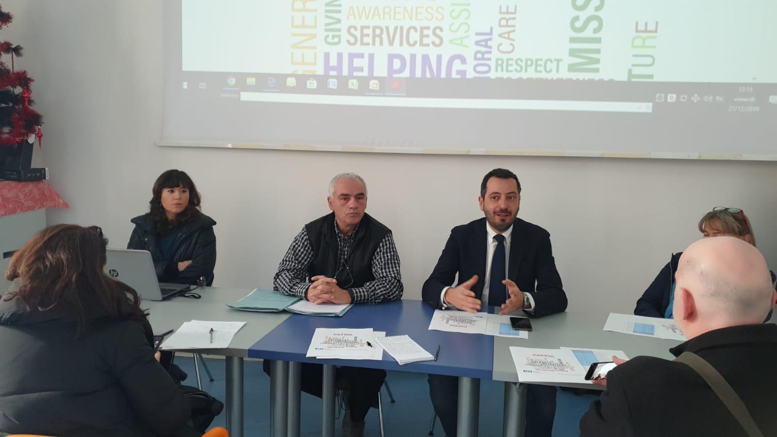 Cesvol Umbria al lavoro per proteggere e promuovere il valore del volontariato