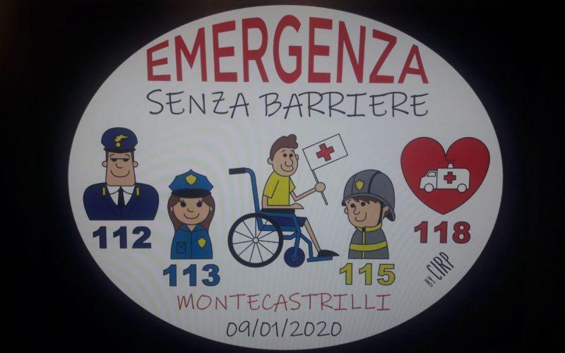 """""""Emergenza senza barriere"""": Croce Rossa di Avigliano Umbro e centri per disabili della Usl Umbria 2 uniti per un soccorso accessibile a tutti"""