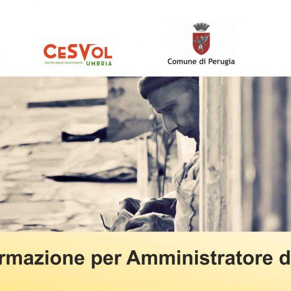 Amministratore di sostegno, nuovo corso di formazione a Perugia