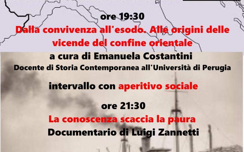 """""""IL CONFINE ORIENTALE, STORIA E MEMORIE"""""""