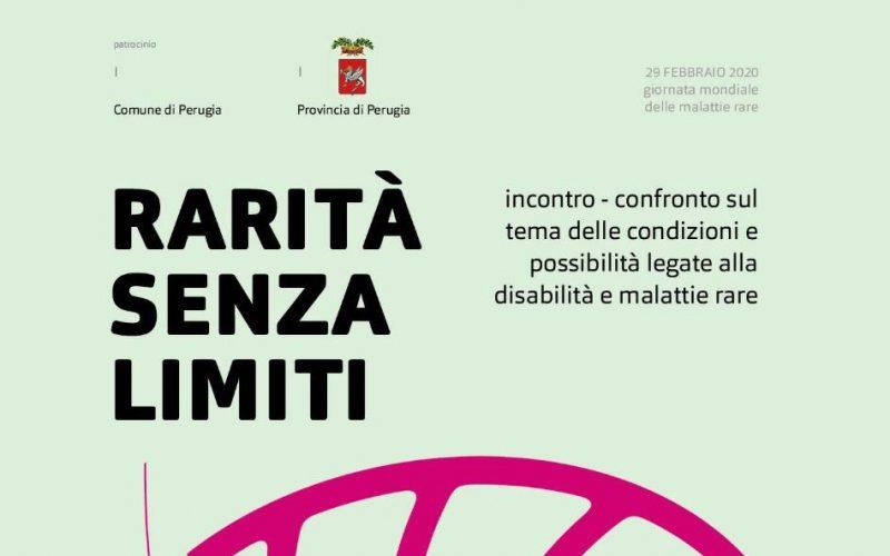 Rarità senza limiti, evento a Perugia per la Giornata sulle Malattie Rare