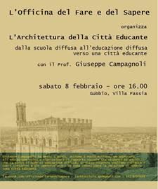 """""""L'ARCHITETTURA DELLA CITTÀ EDUCANTE"""""""