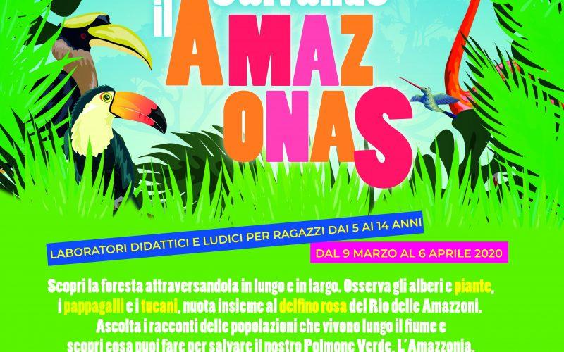"""""""New generation community"""" propone """"Salvando Amazonas"""": In bct i laboratori gratuiti per minori italiani e stranieri"""