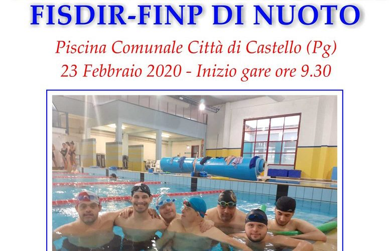 CAMPIONATO REGIONALE FISDIR-FINP DI NUOTO