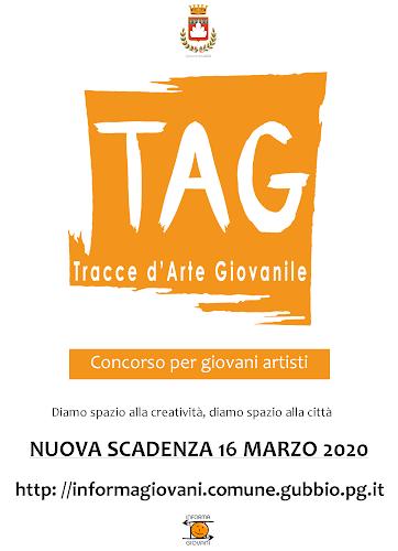 PROROGA AL 16 MARZO SCADENZA BANDO TAG – TRACCE D'ARTE GIOVANILE