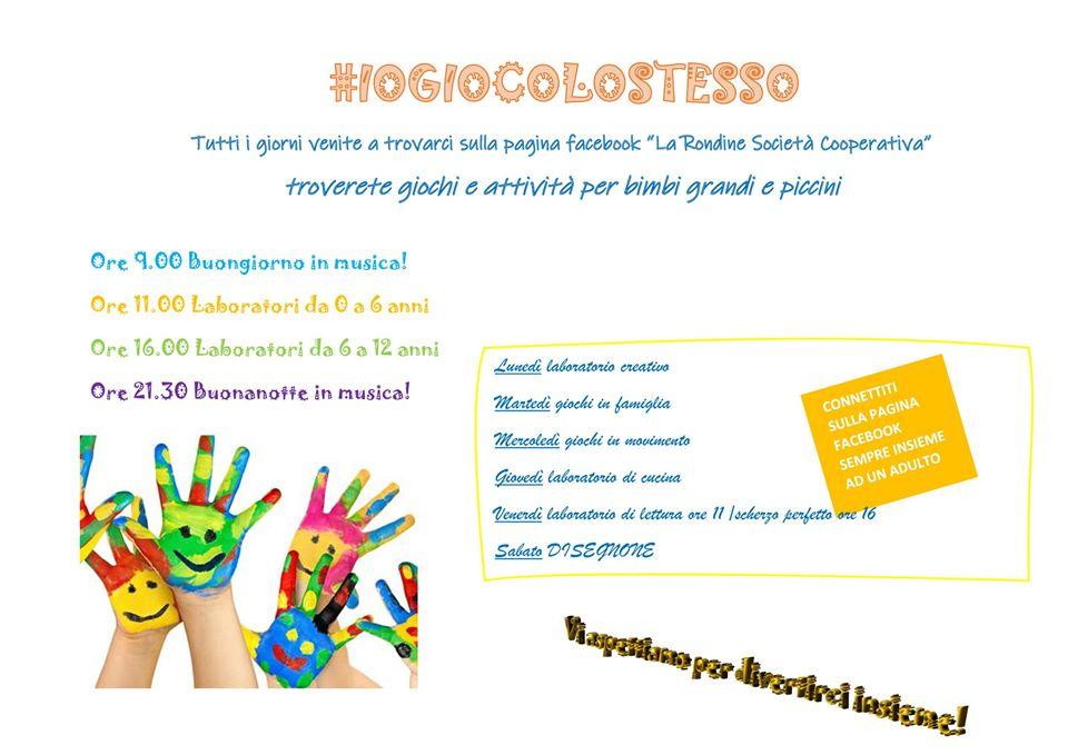 # IO GIOCO LO STESSO