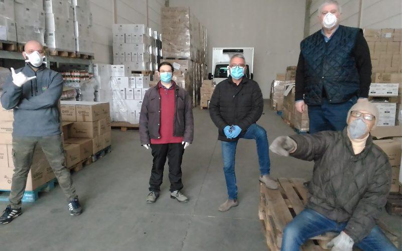 """#ilvolontariatononsiferma I volontari del Banco Alimentare:""""Il cornavirus non cambia la nostra missione"""""""