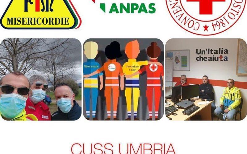 #ilvolontariatononsiferma – Il CUSS Umbria al servizio dello popolazione