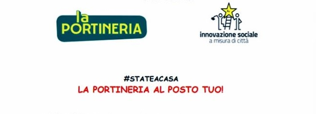 #STATEACASA… LA PORTINERIA AL POSTO TUO!