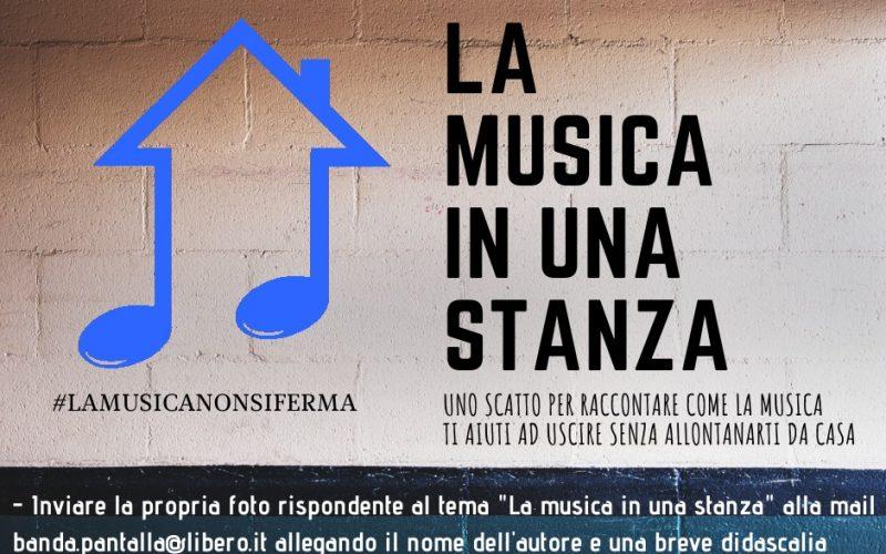 #ilvolontariatononsiferma – LA MUSICA IN UNA STANZA
