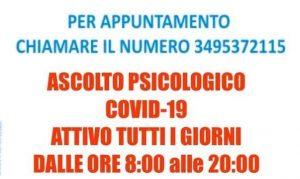 ASCOLTO PSICOLOGICO COVID -19 A SPOLETO
