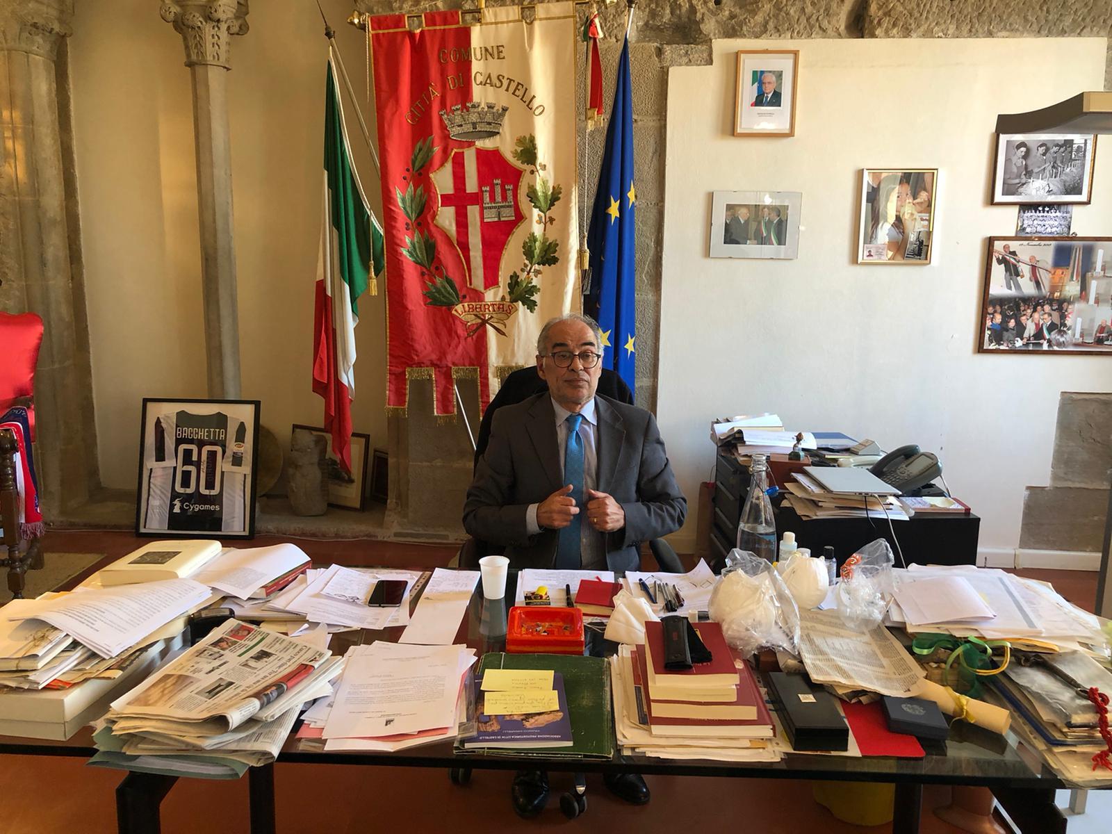 """IL SINDACO BACCHETTA: """"NECESSARIO COORDINAMENTO DELLE ASSOCIAZIONI TIFERNATI CON IL COC"""""""
