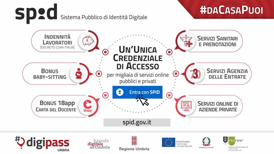 SPID per accedere ai servizi online della Pubblica Amministrazione