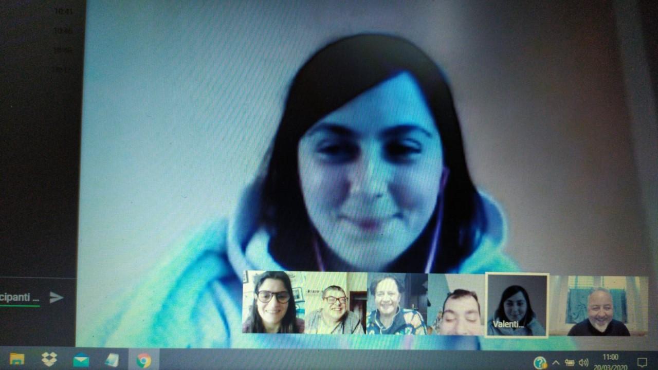 Didattica a distanza per gli utenti dei centri socio-riabilitativi di Porchiano e Narni