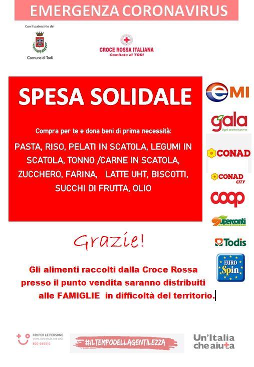 Progetto Spesa Solidale a Todi