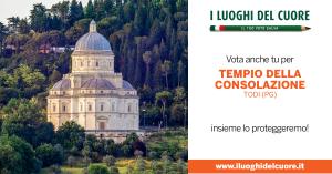"""""""I Luoghi del Cuore"""", IL TEMPIO Etab La Consolazione PARTECIPA ALL'EDIZIONE 2020 DELL'INIZIATIVA DEL FONDO AMBIENTE ITALIANO FAI"""