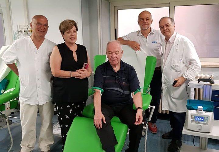 La donazione di sangue domenicale allenta la tensione. Quasi 40 donatori tra Terni e Narni