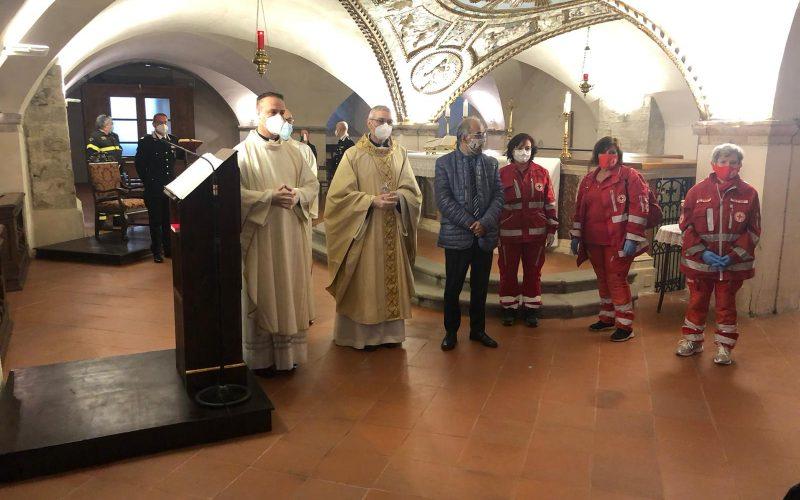 S. MESSA IN OCCASIONE DELL'INIZIO DELLE CELEBRAZIONI IN PRESENZA DEL POPOLO DOPO LA PANDEMIA COVID 19