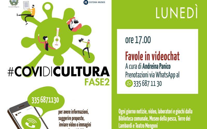 PROGETTO #COVIDICULTURA , UN SOSTEGNO ONLINE ALL'ATTIVITA' DI MUSEI, TEATRI, BIBLIOTECHE