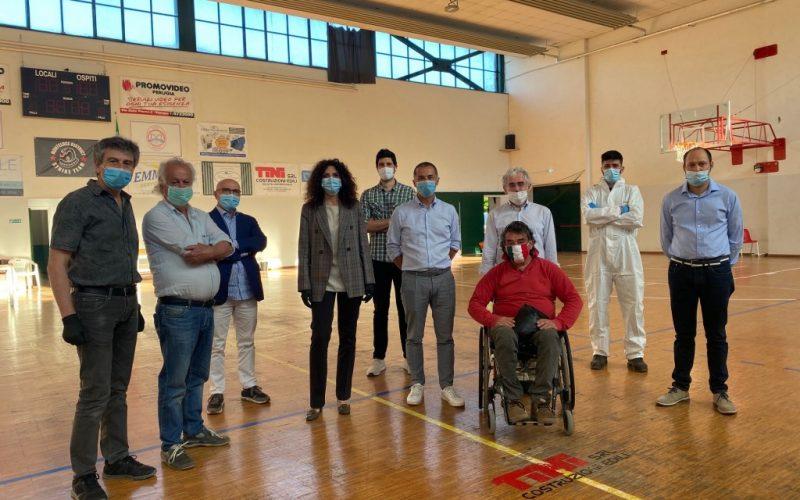 Sanificati i locali: la palestra di Sant'Erminio torna all'utilizzo ordinario.