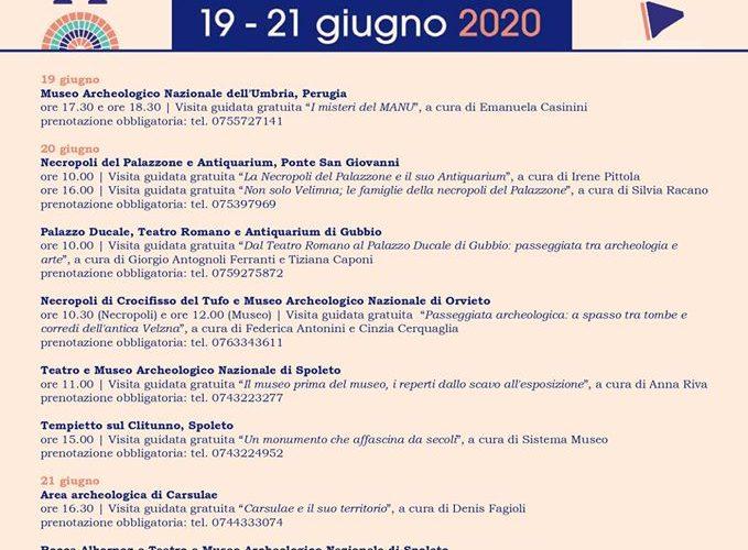 GIORNATE EUROPEE ARCHEOLOGIA 2020