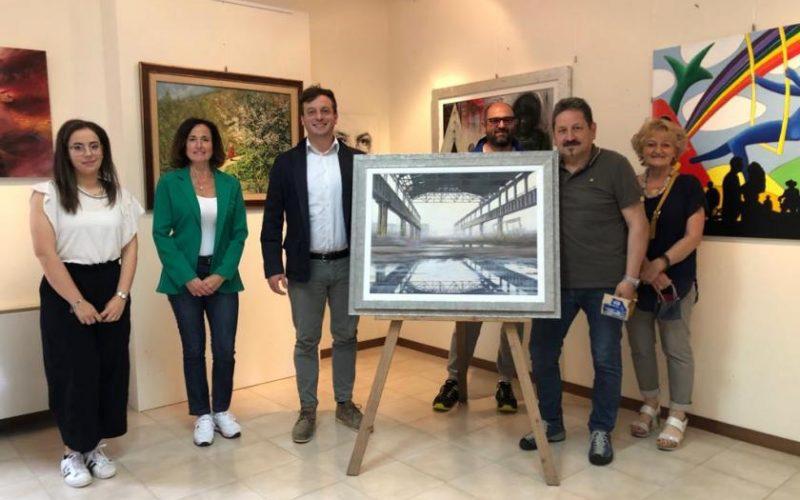 IL PICCOLO MUSEO DI FIGHILLE SI ARRICCHISCE DI NUOVI LAVORI – L'ARTISTA GIUSEPPE FOCHESATO DONA UNA SUA OPERA