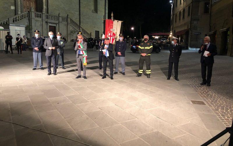 ANNIVERSARIO DELLA FESTA DELLA REPUBBLICA – TORRE CIVICA TRICOLORE E STRUGGENTE ESECUZIONE DELL'INNO DI MAMELI