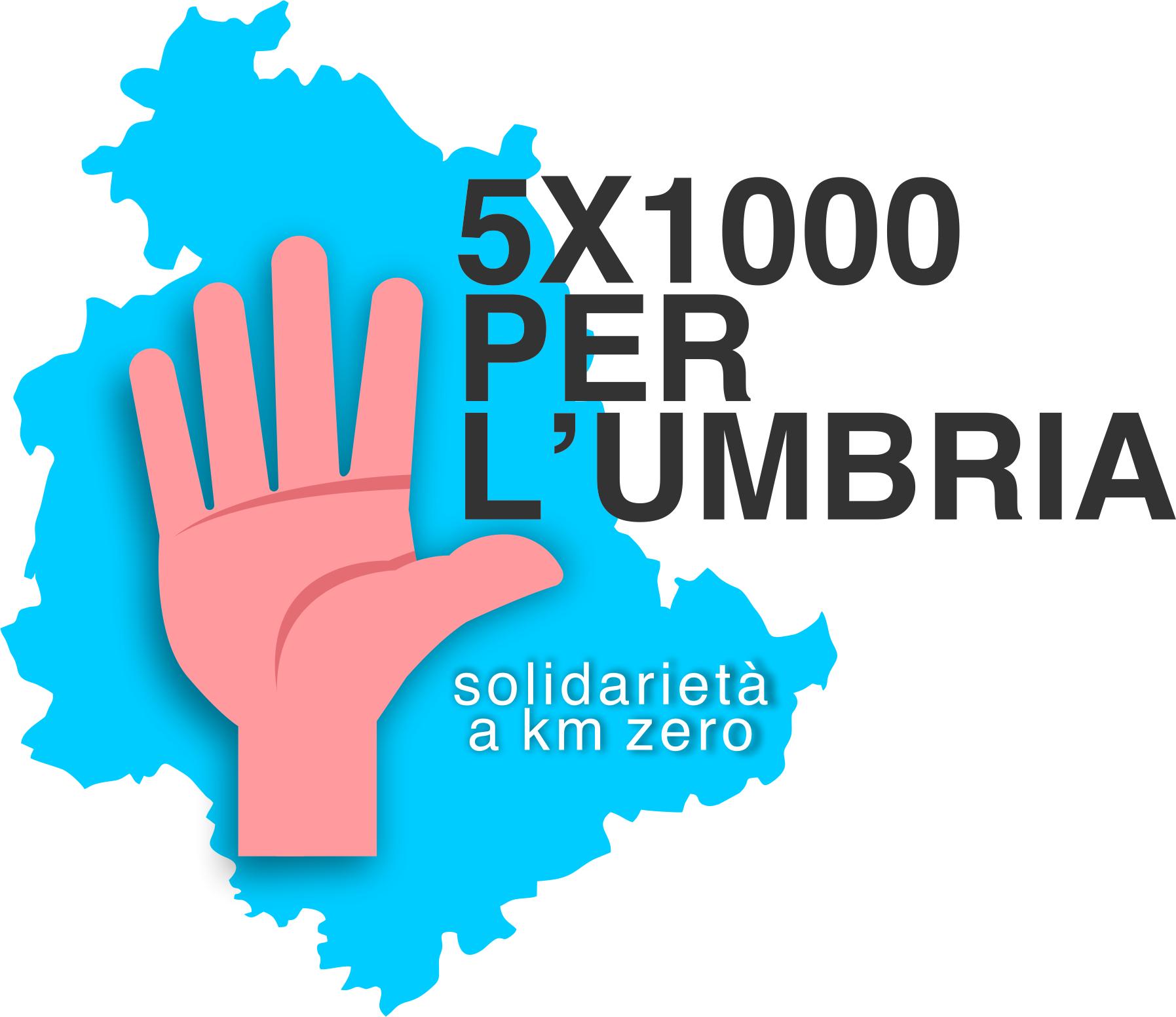 Cinque per mille per l'Umbria, solidarietà a Km0