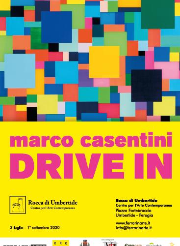 """MOSTRA PERSONALE """"DRIVE IN"""" DI MARCO CASENTINI ALLA ROCCA"""