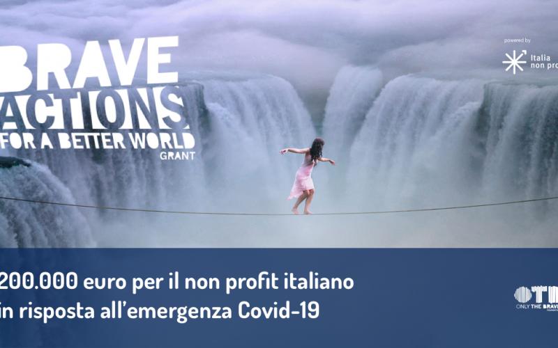 OTB FOUNDATION: AL VIA UN NUOVO BANDO CHE SOSTIENE CON 200 MILA EURO IL NON PROFIT ITALIANO