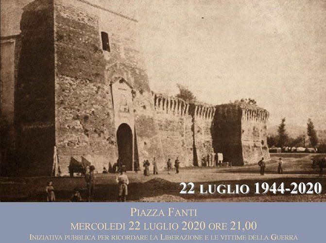 76° ANNIVERSARIO DELLA LIBERAZIONE DI CITTÀ DI CASTELLO