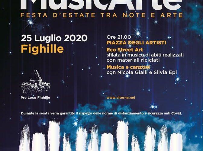 """MUSICARTE – FESTA D'ESTATE TRA NOTE ED ARTE"""