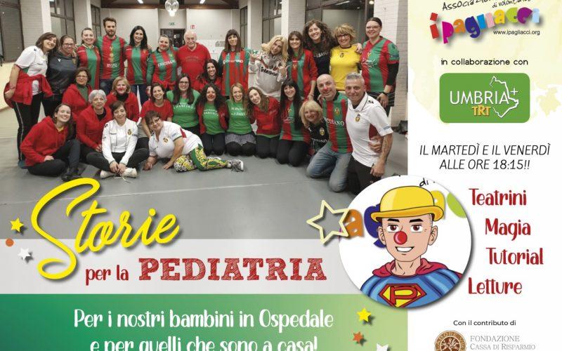 """I Pagliacci accanto ai bimbi malati anche ai tempi del Covid: """"Storie per la pediatria"""" approda in tv"""