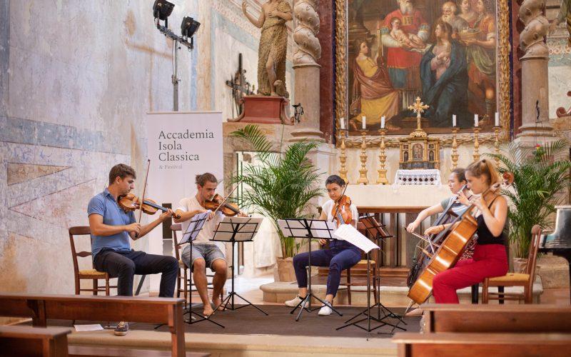 ISOLA MAGGIORE TRASIMENO, GIOVANI TALENTI E PROFESSIONISTI. PROGETTO MUSICALE ACCADEMIA ISOLA CLASSICA & FESTIVAL