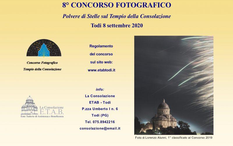 """CONCORSO FOTOGRAFICO """"TODI: POLVERE DI STELLE SUL TEMPIO DELLA CONSOLAZIONE"""", INIZIATIVA E.T.A.B."""