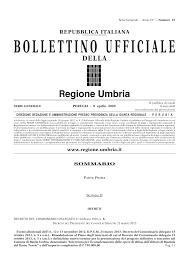 Regione Umbria: avviso pubblico per la presentazione di programmi regionali finalizzati a realizzare interventi post-emergenziali correlati alla diffusione del virus covid-19