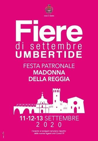 """""""FIERE DI SETTEMBRE"""", UN'EDIZIONE IN PIENA SICUREZZA DALL'11 AL 13 SETTEMBRE"""